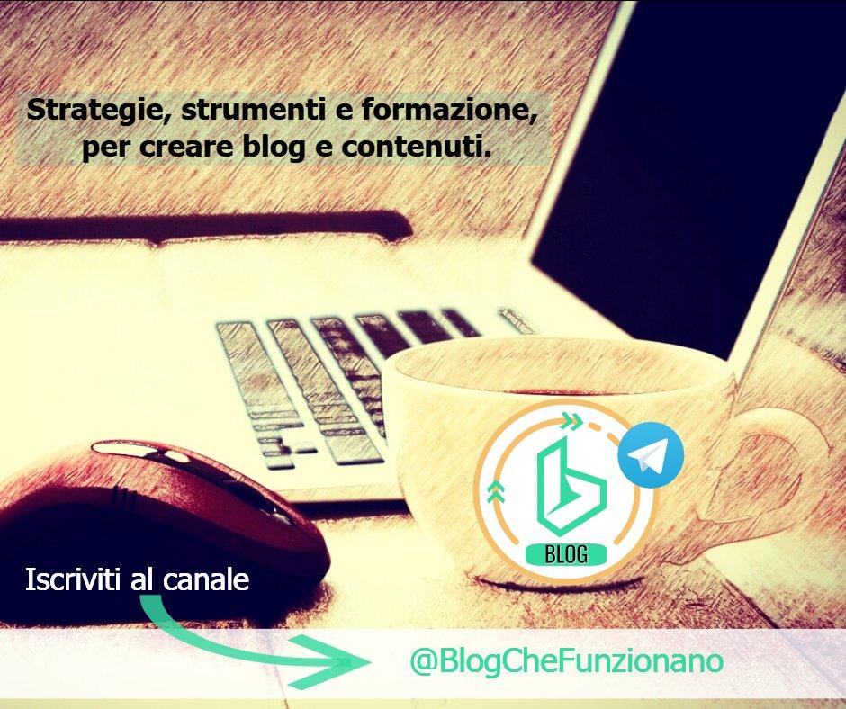 #BlogCheFunzionano